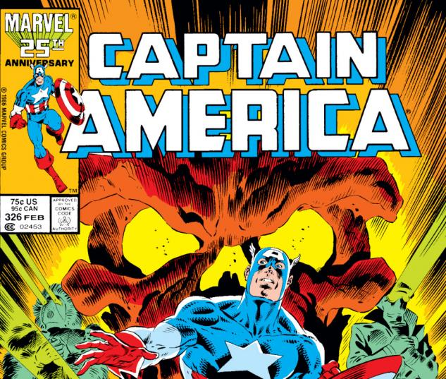 Captain America (1968) #326 Cover