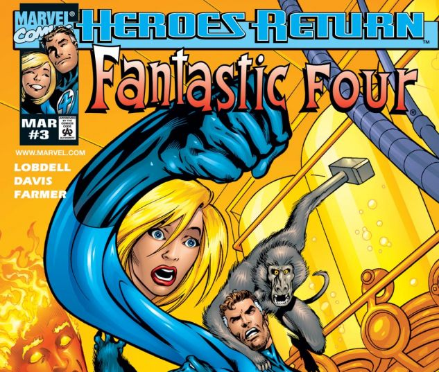 Fantastic Four (1998) #3 Cover