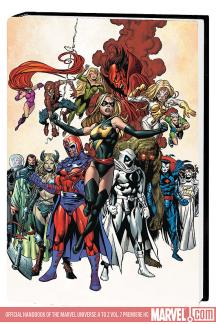 Official Handbook of the Marvel Universe a to Z Vol. 7 Premiere (Hardcover)