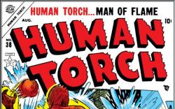 HUMAN TORCH #38 COVER