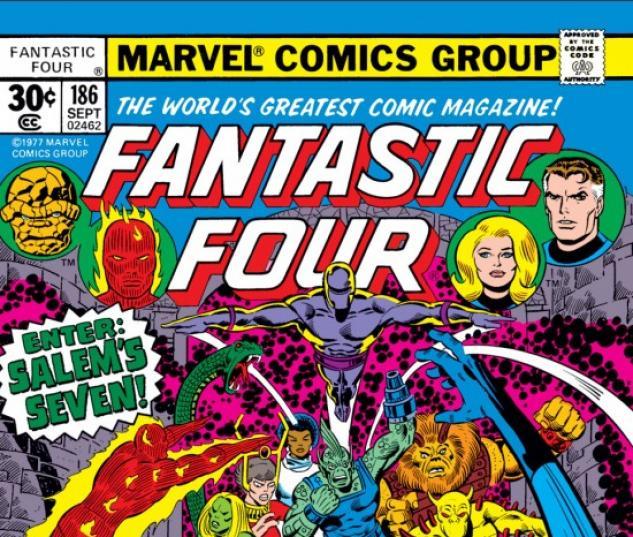 FANTASTIC FOUR #186