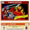 Thor vs. Surtur, Card #91