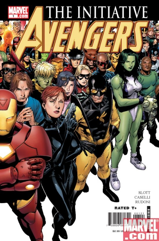 Avengers: The Initiative #1 (cvr. B)