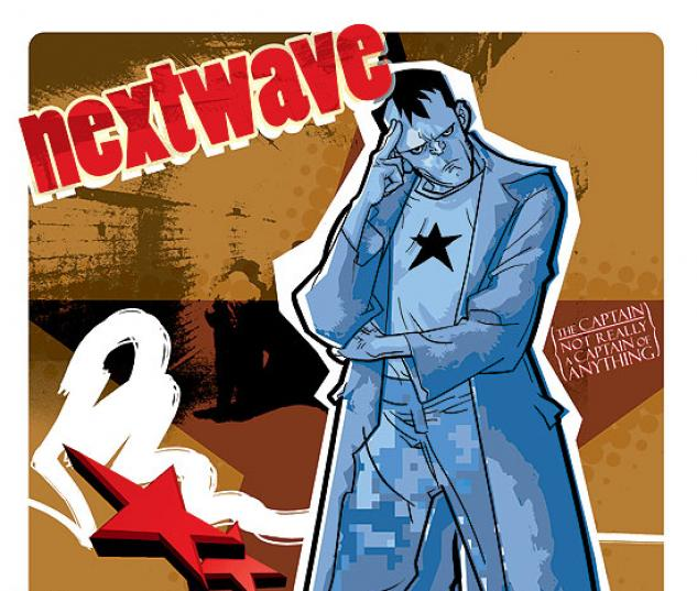 NEXTWAVE (2008) #4 COVER