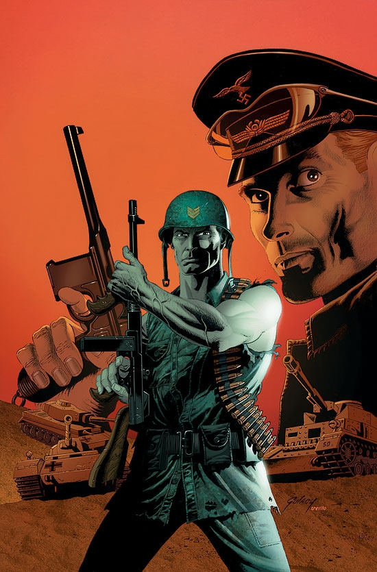 FURY: PEACEMAKER (2008) #3 COVER