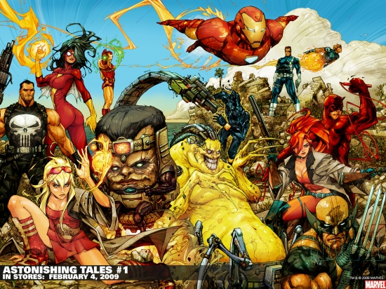 Astonishing Tales (2009) #1 Wallpaper