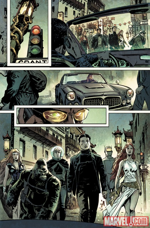 Image Featuring Agents of Atlas, Namora, Human Robot, Gorilla Man, Jimmy Woo