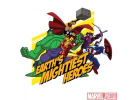 Image Featuring Captain America, Hawkeye, Hulk, Iron Man