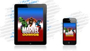 Marvel Comics on the Go