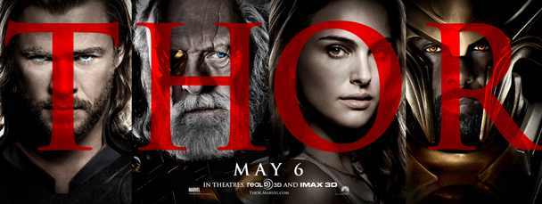 thor movie poster 2011. 2 New Thor Movie Posters