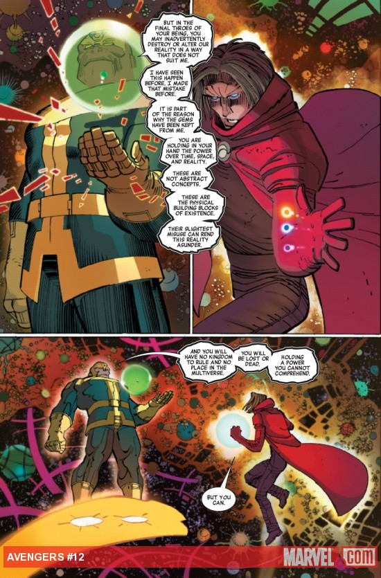Avengers #12 preview art by John Romita Jr