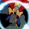 Screenshot of Thor from The Avengers: Earth's Mightiest Heroes!