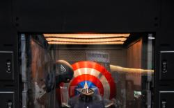 San Diego Comic-Con: Captain America's Ready Room Locker