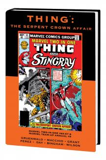 Thing: The Serpent Crown Affair (Hardcover)