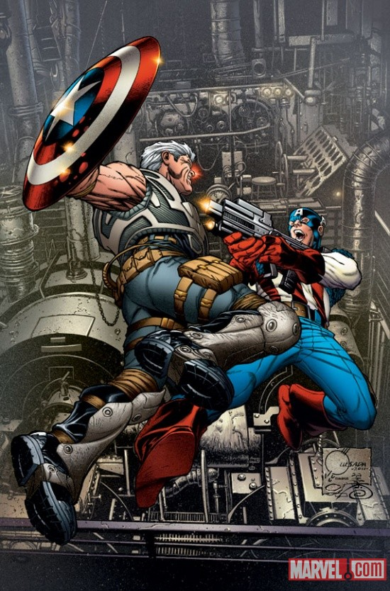 Avengers: X-Sanction #1 Variant Cover by Joe Quesada