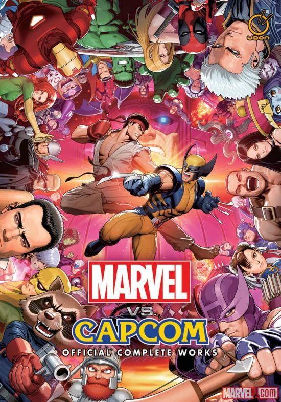 Marvel vs. Capcom: Official Complete Works Softcover Art by Shinkiro
