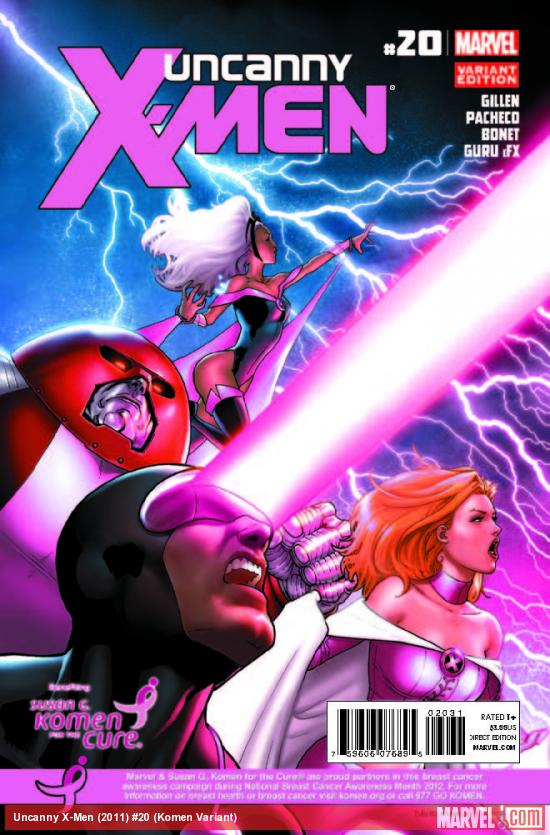 UNCANNY X-MEN 20 KOMEN VARIANT (WITH DIGITAL CODE)