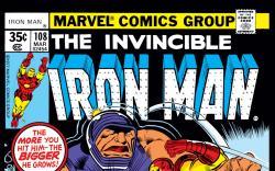 Iron Man (1968) #108 Cover