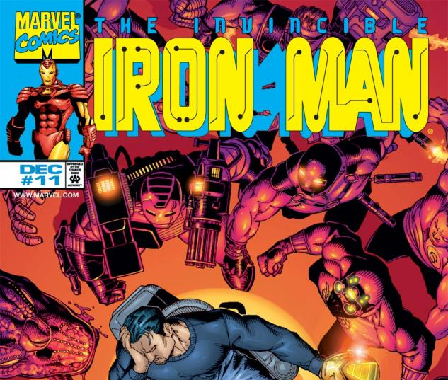 Iron Man (1998) #11 Cover