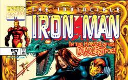 Iron Man (1998) #9 Cover