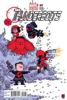 Thunderbolts #1  (Young Variant)