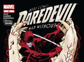 Cover: Daredevil (2011) issue #21