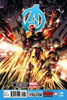 Avengers #4  (2nd Printing Variant)