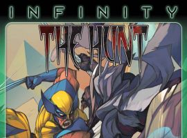 Infinity: The Hunt #2 cover by Slava Panarin