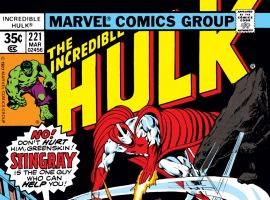 Incredible Hulk (1962) #221 Cover