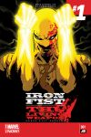 IRON FIST: THE LIVING WEAPON 1 (ANMN, WITH DIGITAL CODE)