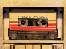 Marvel's Guardians of the Galaxy official soundtrack cover