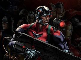 Deathlok in Marvel: Avengers Alliance