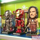 Marvel Wacky Wobblers at Funko Booth Toy Fair 2010