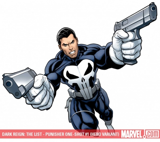 DARK REIGN: THE LIST - PUNISHER ONE-SHOT #1 (HERO VARIANT)