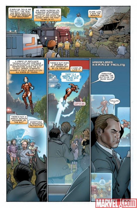 INVINCIBLE IRON MAN #12 preview page 3