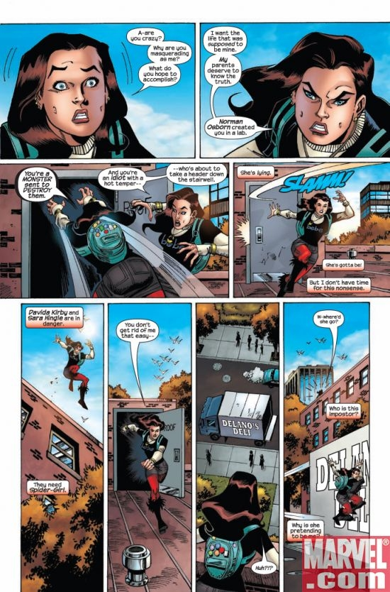 AMAZING SPIDER-GIRL #24, page 2
