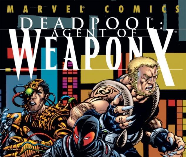 DEADPOOL #58 COVER