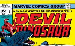 DEVIL DINOSAUR #3 COVER