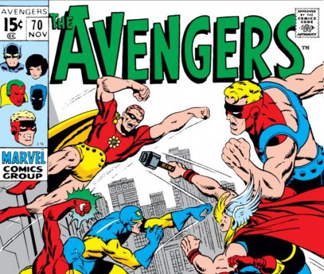 AVENGERS #70 COVER