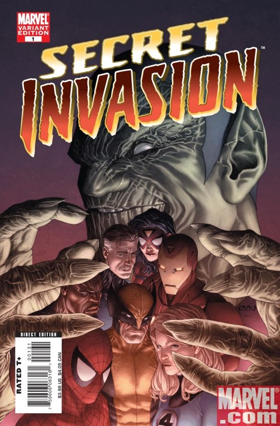 SECRET INVASION #1 MCNIVEN VARIANT