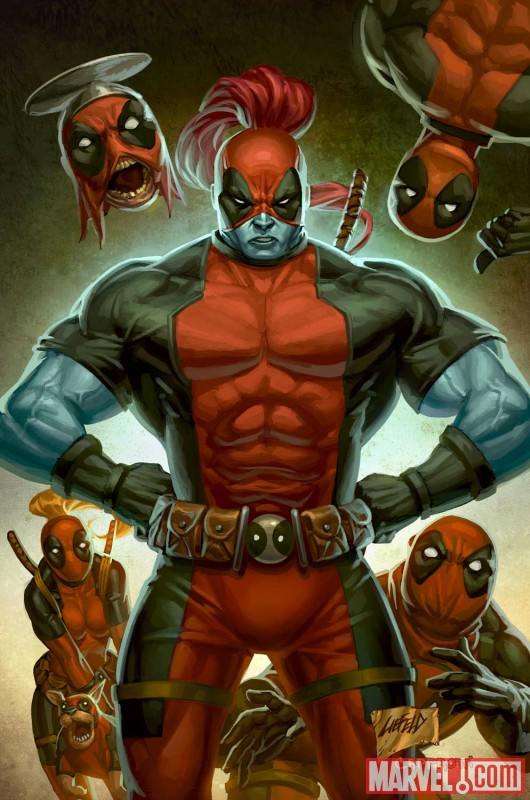 DEADPOOL CORPS #2 cover by Rob Liefeld