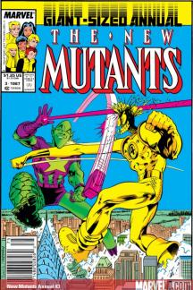 New Mutants Annual (1984) #3