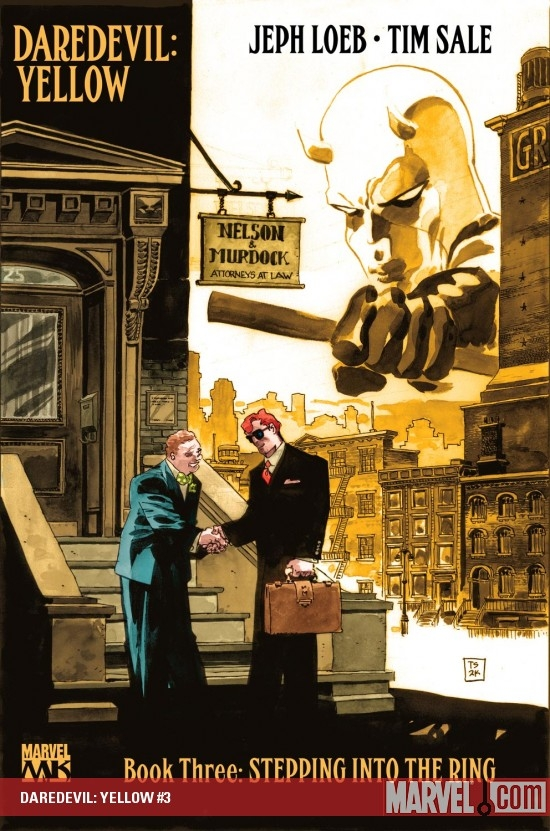 DAREDEVIL: YELLOW (2008) #3 COVER