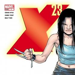 X-23 (2006) #1 COVER