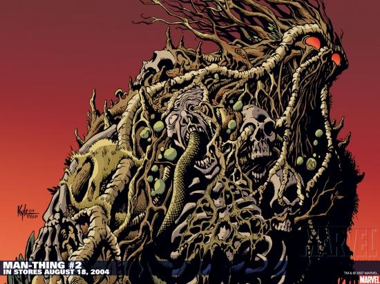 Man-Thing (2004) #2 Wallpaper