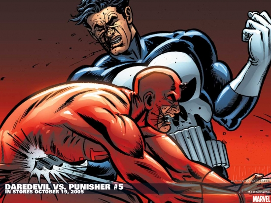 daredevil movie wallpaper. Daredevil Vs. Punisher (2005) #5 Wallpaper. Untitled Image