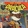 TOMB OF DRACULA #18 cover
