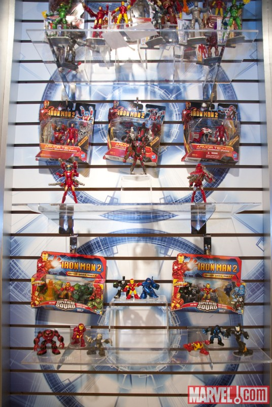 Maryel Toys at Hasbro Booth Toy Fair 2010