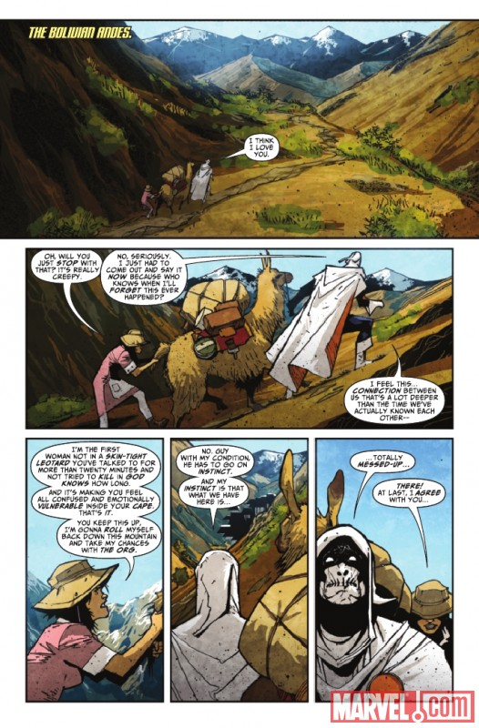 TASKMASTER #3 preview page by Jefte Palo