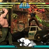 Haggar and X-23 from Marvel vs. Capcom 3